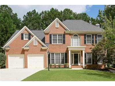 Powder Springs Single Family Home For Sale: 672 Red Sunset Circle
