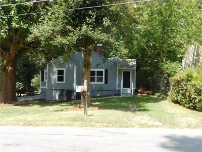 Fulton County Single Family Home For Sale: 2047 Baker Road NW