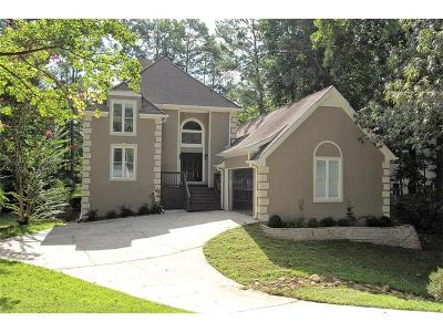 Johns Creek Single Family Home For Sale: 625 Mount Victoria Place