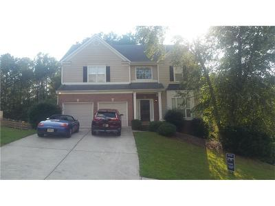 Acworth Single Family Home For Sale: 365 365 Hunt Creek Drive