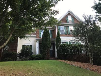 Forsyth County Single Family Home For Sale: 4980 Luke Drive