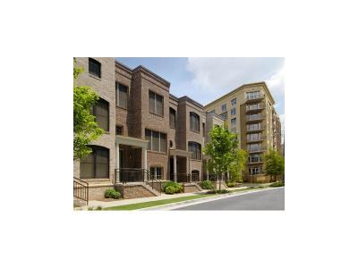 Fulton County Condo/Townhouse For Sale: 714 Cosmopolitan Drive NE