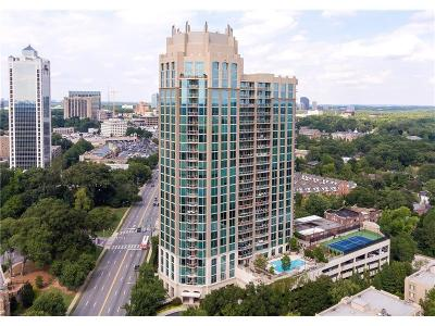 Fulton County Condo/Townhouse For Sale: 2795 Peachtree Road NE #808