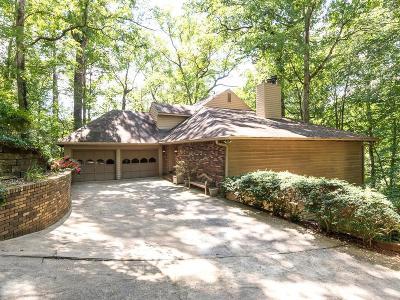 Marietta Single Family Home For Sale: 572 Pine Valley Road SE