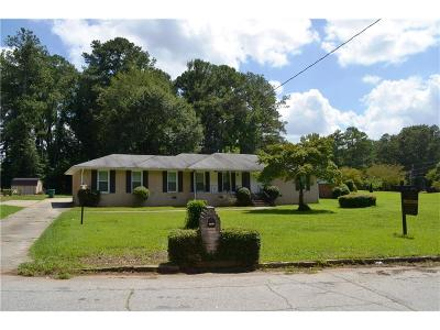 Decatur GA Single Family Home For Sale: $99,000