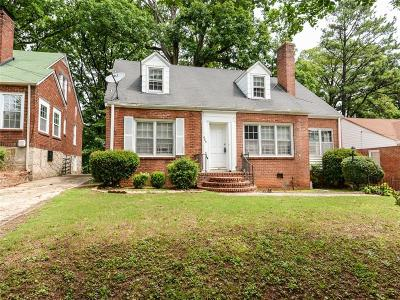 Fulton County Single Family Home For Sale: 469 Mellview Avenue SW