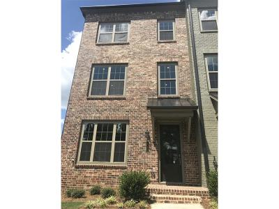 Fulton County Condo/Townhouse For Sale: 10132 Windalier Way