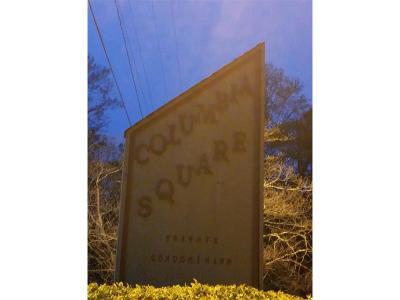 Decatur GA Condo/Townhouse For Sale: $60,000
