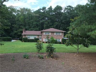 Dallas Single Family Home For Sale: 3305 Dallas Acworth Highway