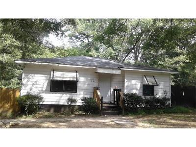 Atlanta Single Family Home For Sale: 501 Aberdeen Drive NW