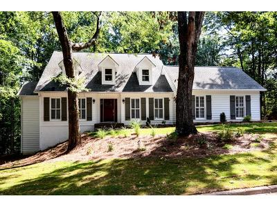 Alpharetta Single Family Home For Sale: 5211 Chestnut Court