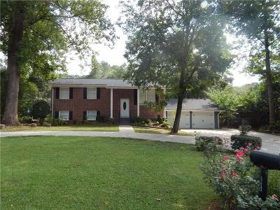 Smyrna Single Family Home For Sale: 2585 Leafmore Drive SE