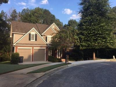 Acworth Single Family Home For Sale: 38 McEvers Branch Court
