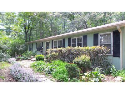 Talking Rock Single Family Home For Sale: 3990 Talking Rock Road