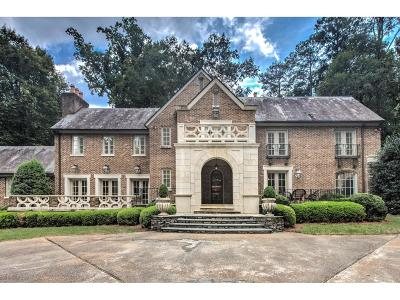 Tuxedo Park, Tuxedo Park Buckhead Single Family Home For Sale: 3671 Tuxedo Road NW