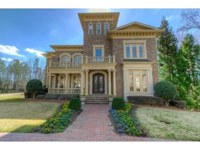 Alpharetta GA Single Family Home For Sale: $2,645,000