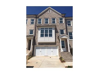 Smyrna Condo/Townhouse For Sale: 2183 Elmont Way