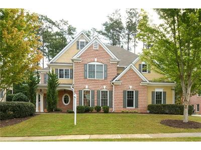 Kennesaw Single Family Home For Sale: 1608 Climbing Rose Court NW