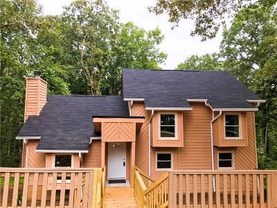 Dawsonville Single Family Home For Sale: 555 Grant Ford Drive