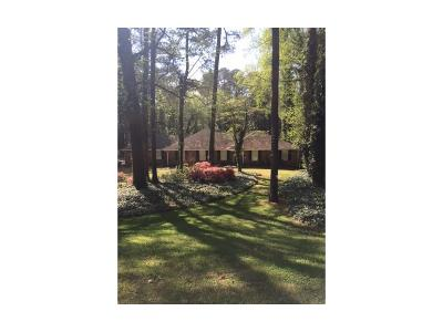 Sandy Springs Single Family Home For Sale: 640 River Valley Road