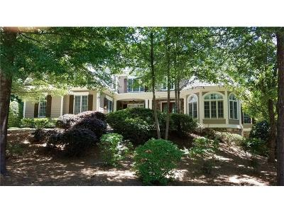 Milton Single Family Home For Sale: 580 Hickory Mill Lane