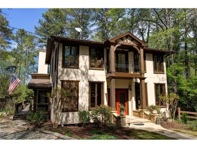 Buford Single Family Home For Sale: 1852 Buford Dam Road