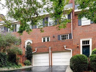 Sandy Springs Condo/Townhouse For Sale: 634 Jefferson Circle #634