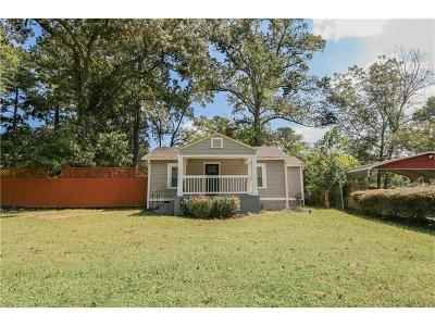 Single Family Home For Sale: 2502 Barge Road SW