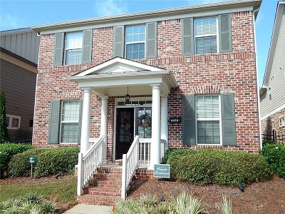 Smyrna Single Family Home For Sale: 4656 W Village Drive SE
