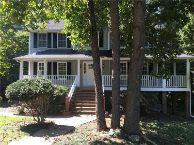 Marietta Single Family Home For Sale: 342 Rockmoor Trail
