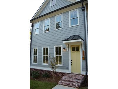 Decatur Condo/Townhouse For Sale: 1214 Church Street