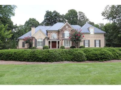 Kennesaw Single Family Home For Sale: 1326 Marietta Country Club Drive
