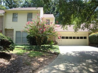 Dunwoody Condo/Townhouse For Sale: 4473 Village Drive