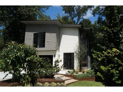 Single Family Home For Sale: 571 Overbrook Drive NW