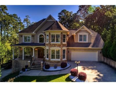 Alpharetta, Cumming, Johns Creek, Milton, Roswell Single Family Home For Sale: 7960 Robin Road