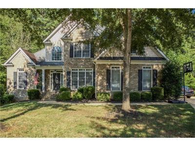 Powder Springs Single Family Home For Sale: 4716 Fountainwood Drive