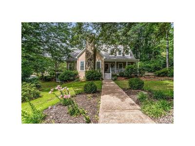 Marietta Single Family Home For Sale: 1088 Polo Club Drive NW