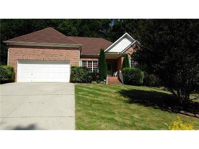 Powder Springs Single Family Home For Sale: 1556 Ember Oaks Circle