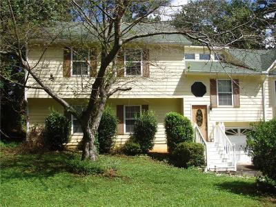 Kennesaw Single Family Home For Sale: 2581 Kennesaw Springs Court NW