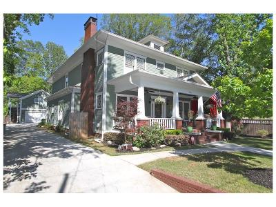 Single Family Home For Sale: 279 Oxford Place NE