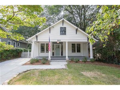 Single Family Home For Sale: 260 Mathews Avenue NE