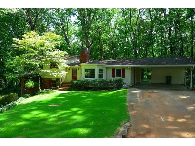 Brookhaven Single Family Home For Sale: 4105 Ashwoody Trail NE