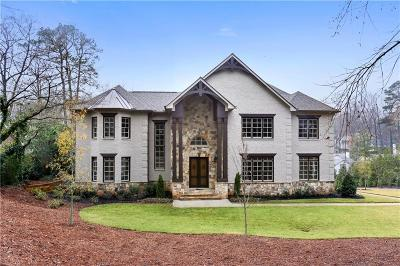 Sandy Springs GA Single Family Home For Sale: $2,175,000