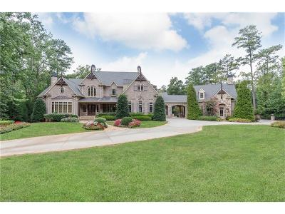 Atlanta GA Single Family Home For Sale: $5,600,000