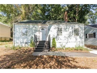 Single Family Home For Sale: 1607 Orlando Street SW