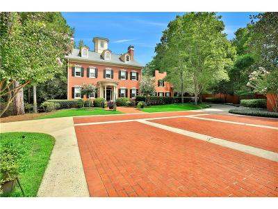 Peachtree City Single Family Home For Sale: 319 N Peachtree Parkway