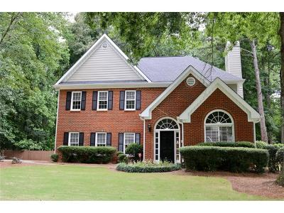 Marietta Single Family Home For Sale: 3556 W Hampton Drive NW