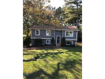 Conyers Single Family Home For Sale: 1733 Pacer Place NW
