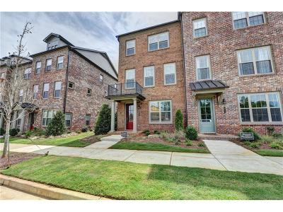 Roswell  Condo/Townhouse For Sale: 10137 Windalier Way