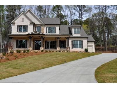 Acworth Single Family Home For Sale: 5380 Lake Redwine Cove NW